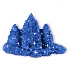 Sable à modeler effet pailleté : Bleu