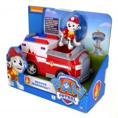 Véhicule avec figurine Pat'Patrouille (PAW Patrol) : Camion de pompier et Marcus