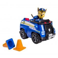 Véhicule avec figurine Pat'Patrouille (PAW Patrol) : Fourgon de police et Chase