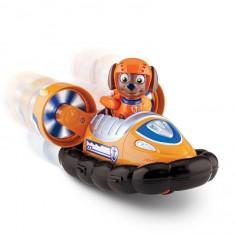 Véhicule avec figurine Pat'Patrouille (PAW Patrol) : Hovercraft et Zuma