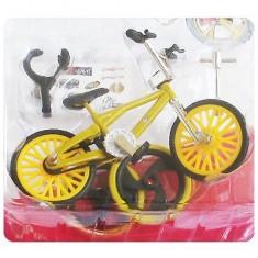 Finger BMX / Vélo à doigt - Jaune