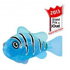 Jouet pour le bain : Robo Fish lumineux Bleu et Noir