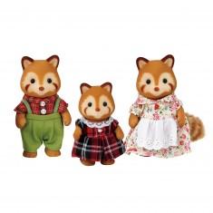 Sylvanian Family 5215 : La famille des pandas roux