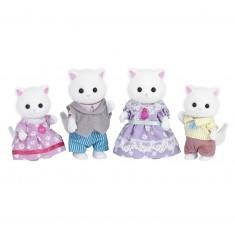 Sylvanian Family 5216 : La famille des chats persans
