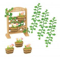 Sylvanian Family 5224 : Accessoire : Décorations florales et jardinières
