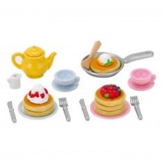 Sylvanian Family 5225 : Accessoires : Goûter de pancakes
