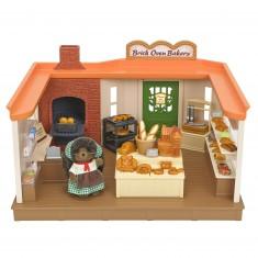 Sylvanian Family 5240 : La boulangerie traditionnelle et figurine