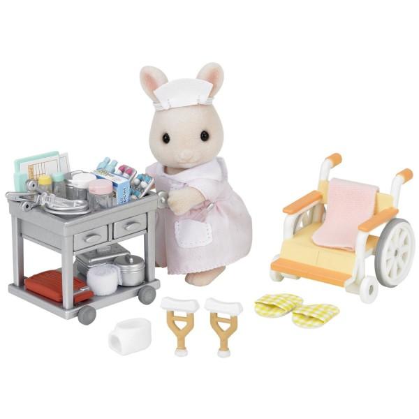 Sylvanian family 2816 infirmi re et accessoires jeux for Sylvanian chambre parents