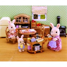 Sylvanian family 2926 mobilier chambre enfants jeux et for Chambre parents sylvanian