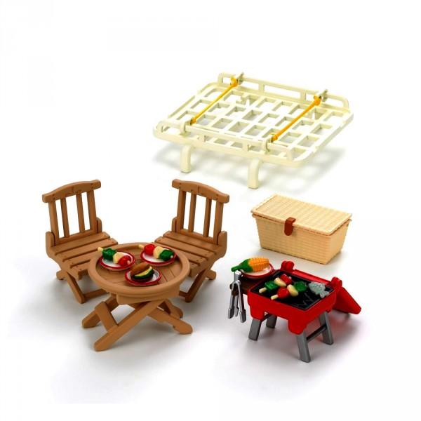 sylvanian family 2884 galerie de voiture et set de pique nique jeux et jouets sylvanian. Black Bedroom Furniture Sets. Home Design Ideas