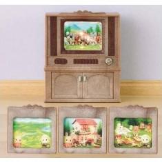 Sylvanian Family 2924 : Meuble télévision couleur