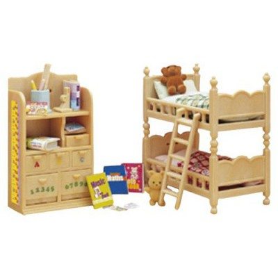 Sylvanian family 2926 mobilier chambre enfants for Sylvanian chambre parents