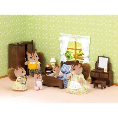 Sylvanian family 2958 set chambre des parents jeux et for Chambre parents sylvanian