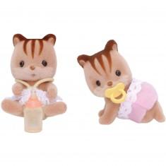 Sylvanian Family 3218 : Jumeaux écureuils roux