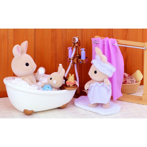 sylvanian family 3562 ensemble baignoire et douche jeux et jouets sylvanian families. Black Bedroom Furniture Sets. Home Design Ideas