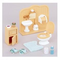 Sylvanian Family 3563 : Ensemble toilettes