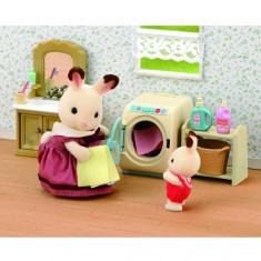 Sylvanian Family 3565 : Set machine à laver