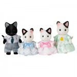 Sylvanian Family 5181 : Famille chat bicolore