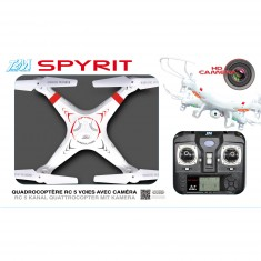 Quadrocoptère radiocommandé Spyrit