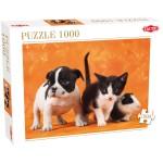 Puzzle 1000 pièces : Bébés animaux