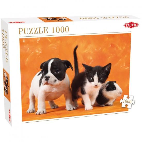 Puzzle 1000 pièces : Bébés animaux - Tactic-40913