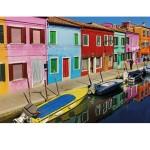 Puzzle 1000 pièces : Ile de Burano, Venise