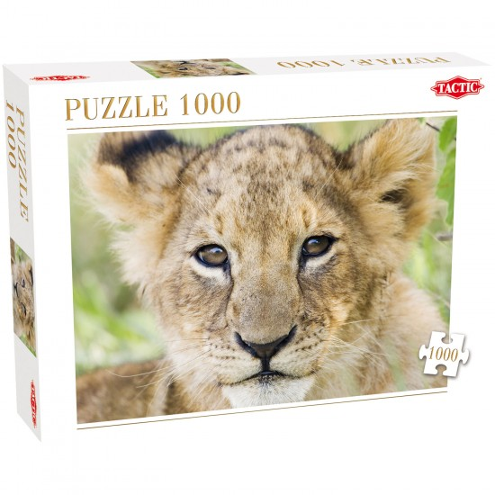 Puzzle 1000 pièces : Lion - Tactic-40914