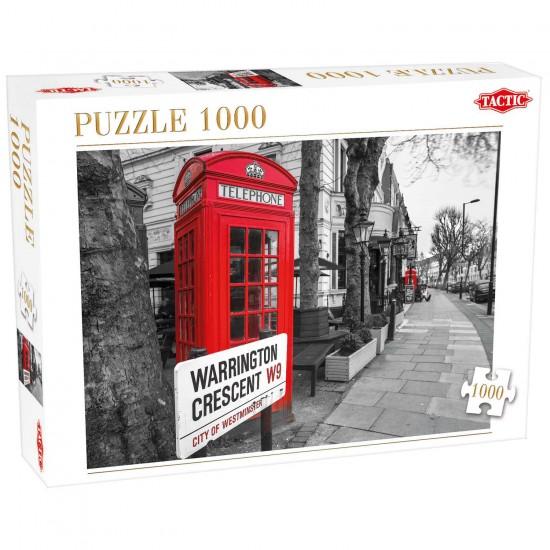 Puzzle 1000 pièces : Londres - Tactic-52841