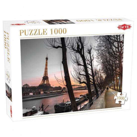 Puzzle 1000 pièces : Paris et la Tour Eiffel - Tactic-52840
