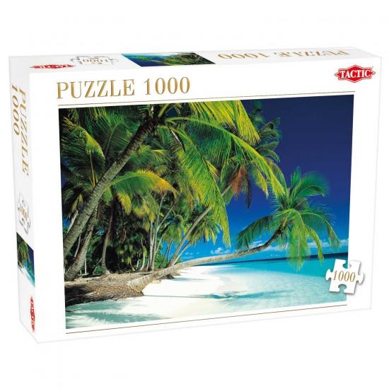 Puzzle 1000 pièces : Plage de rêve - Tactic-52839