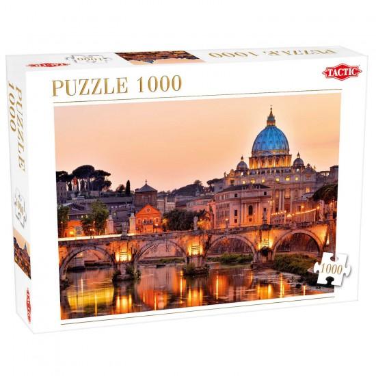 Puzzle 1000 pièces : Rome, Italie - Tactic-52838