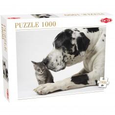 Puzzle 1000 pièces : Tendres amis
