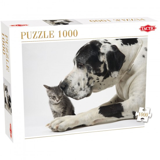 Puzzle 1000 pièces : Tendres amis - Tactic-40911