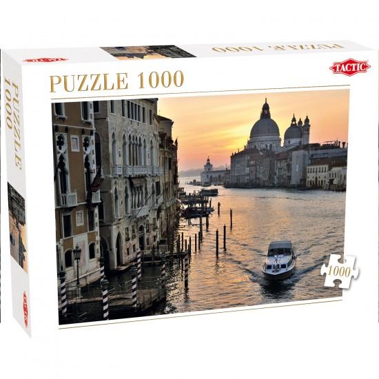 Puzzle 1000 pièces : Venise - Tactic-40909