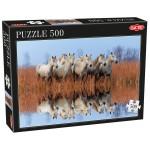Puzzle 500 pièces : Chevaux