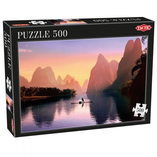 Puzzle 500 pièces : Chine - Tactic-53562