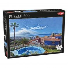 Puzzle 500 pièces : Ciel Bleu