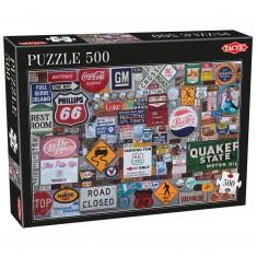 Puzzle 500 pièces : Logos