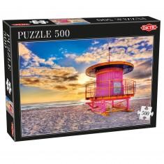 Puzzle 500 pièces : Miami Beach