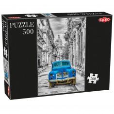 Puzzle 500 pièces : Voiture cubaine