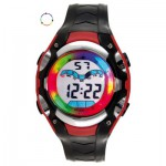 Montre LCD Rouge