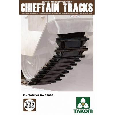 Accessoires militaires : Set de chenille pour char Chieftain - Takom-TAKOM2059