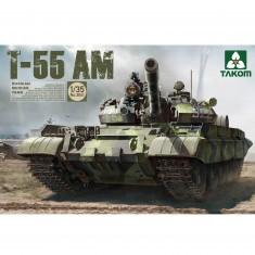Maquette char russe T-55 AM