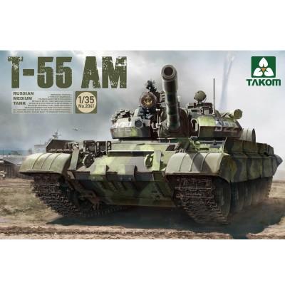 Maquette char russe T-55 AM - Takom-TAKOM2041