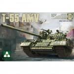 Maquette char russe T-55 AMV