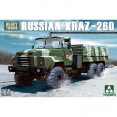 Maquette Véhicule Militaire : Camion soviétique KrAZ-260