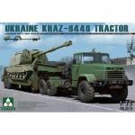 Maquette Véhicule Militaire : Transport de char russe (Tracteur + Semi-remorque)