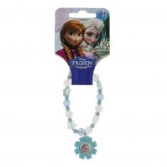 Bracelet La Reine des Neiges (Frozen) : Elsa (bleu)