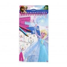 Carnet Portfolio A5 La Reine des Neiges (Frozen)