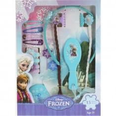 Grand set d'accessoires pour cheveux La Reine des Neiges (Frozen)